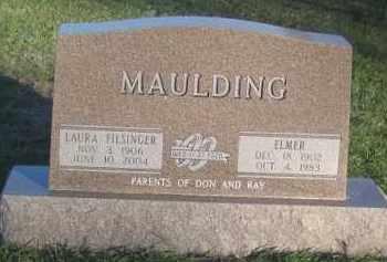 FILSINGER MAULDING, LAURA - Antelope County, Nebraska | LAURA FILSINGER MAULDING - Nebraska Gravestone Photos