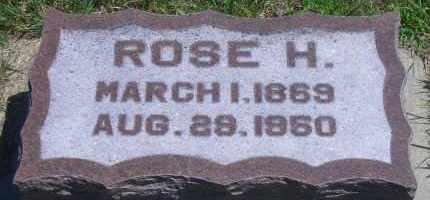 HUGHES MCCOLE, ROSE H - Antelope County, Nebraska   ROSE H HUGHES MCCOLE - Nebraska Gravestone Photos