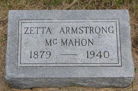 ARMSTRONG MCMAHON, ZETTA - Antelope County, Nebraska | ZETTA ARMSTRONG MCMAHON - Nebraska Gravestone Photos
