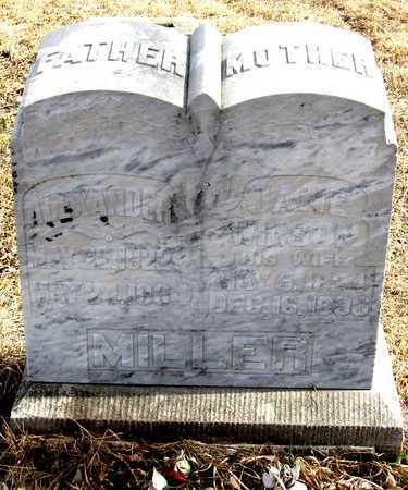 WILSON MILLER, JANE - Antelope County, Nebraska | JANE WILSON MILLER - Nebraska Gravestone Photos