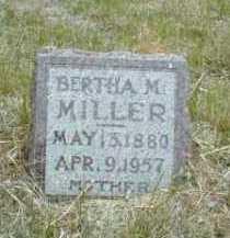 MILLER, BERTHA - Antelope County, Nebraska | BERTHA MILLER - Nebraska Gravestone Photos
