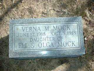 MOCK, VERNA - Antelope County, Nebraska | VERNA MOCK - Nebraska Gravestone Photos