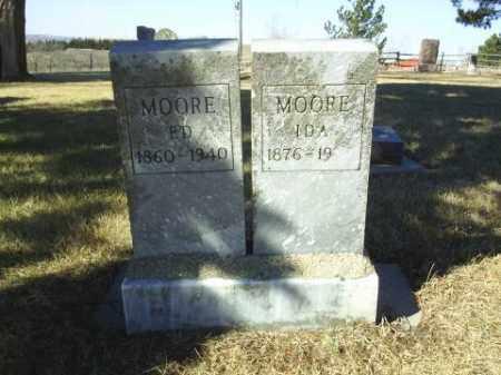 MOORE, ED - Antelope County, Nebraska | ED MOORE - Nebraska Gravestone Photos
