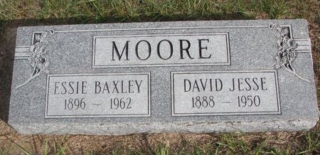 BAXLEY MOORE, ESSIE BELL - Antelope County, Nebraska   ESSIE BELL BAXLEY MOORE - Nebraska Gravestone Photos