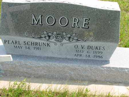 SCHRUNK MOORE, PEARL MAE - Antelope County, Nebraska | PEARL MAE SCHRUNK MOORE - Nebraska Gravestone Photos