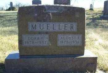 MUELLER, AUGUST - Antelope County, Nebraska | AUGUST MUELLER - Nebraska Gravestone Photos