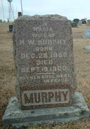 MURPHY, MARIA - Antelope County, Nebraska   MARIA MURPHY - Nebraska Gravestone Photos