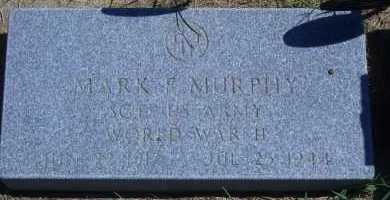 MURPHY, MARK F - Antelope County, Nebraska | MARK F MURPHY - Nebraska Gravestone Photos