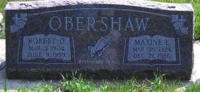WELLS OBERSHAW, MAXINE L - Antelope County, Nebraska   MAXINE L WELLS OBERSHAW - Nebraska Gravestone Photos