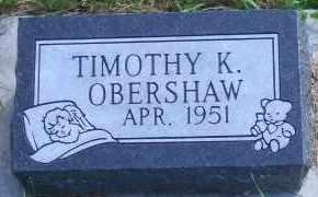 OBERSHAW, TIMOTHY K - Antelope County, Nebraska | TIMOTHY K OBERSHAW - Nebraska Gravestone Photos