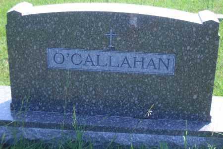 O'CALLAHAN, FAMILY MARKER - Antelope County, Nebraska   FAMILY MARKER O'CALLAHAN - Nebraska Gravestone Photos
