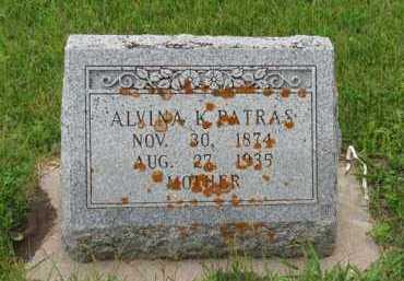LUBEN PATRAS, BERTHA ALVINA K - Antelope County, Nebraska | BERTHA ALVINA K LUBEN PATRAS - Nebraska Gravestone Photos