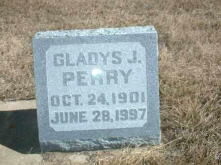 PERRY, GLADYS J - Antelope County, Nebraska | GLADYS J PERRY - Nebraska Gravestone Photos