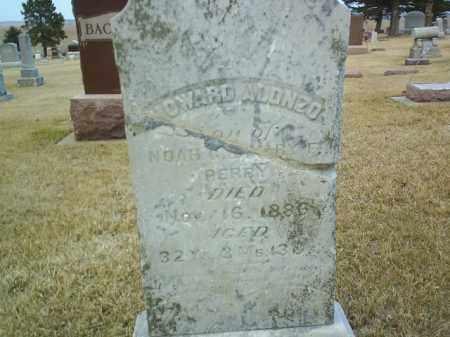 PERRY, HOWARD ALONZO - Antelope County, Nebraska | HOWARD ALONZO PERRY - Nebraska Gravestone Photos