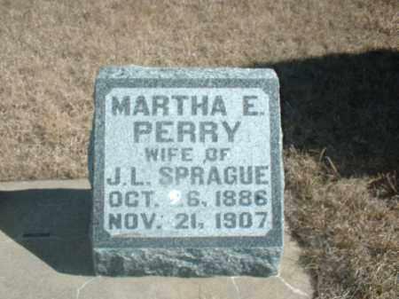 PERRY, MARTHA E - Antelope County, Nebraska | MARTHA E PERRY - Nebraska Gravestone Photos