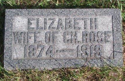 ARBOGAST ROSE, ELIZABETH - Antelope County, Nebraska   ELIZABETH ARBOGAST ROSE - Nebraska Gravestone Photos