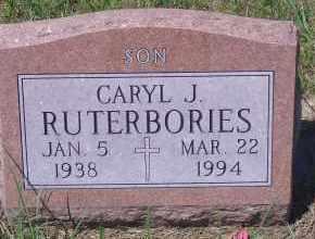 RUTERBORIES, CARYL J - Antelope County, Nebraska | CARYL J RUTERBORIES - Nebraska Gravestone Photos