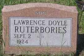 RUTERBORIES, LAWRENCE DOYLE - Antelope County, Nebraska | LAWRENCE DOYLE RUTERBORIES - Nebraska Gravestone Photos