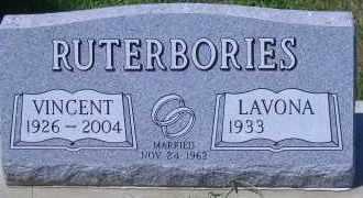 RUTERBORIES, VENCENT - Antelope County, Nebraska | VENCENT RUTERBORIES - Nebraska Gravestone Photos