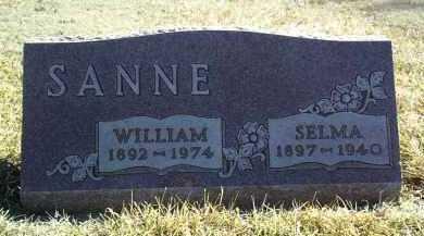 SANNE, SELMA - Antelope County, Nebraska | SELMA SANNE - Nebraska Gravestone Photos