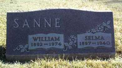 SANNE, WILLIAM - Antelope County, Nebraska | WILLIAM SANNE - Nebraska Gravestone Photos