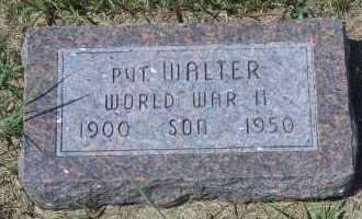 SAULER, WALTER - Antelope County, Nebraska | WALTER SAULER - Nebraska Gravestone Photos
