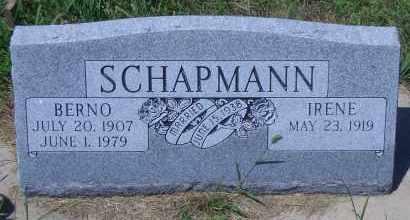 SCHAPMANN, BERNO - Antelope County, Nebraska | BERNO SCHAPMANN - Nebraska Gravestone Photos