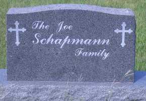 SCHAPMANN, FAMILY MARKER - Antelope County, Nebraska | FAMILY MARKER SCHAPMANN - Nebraska Gravestone Photos