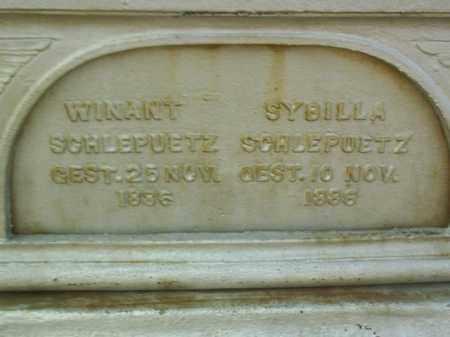 SCHLEPUETZ, SYBILLA - Antelope County, Nebraska | SYBILLA SCHLEPUETZ - Nebraska Gravestone Photos