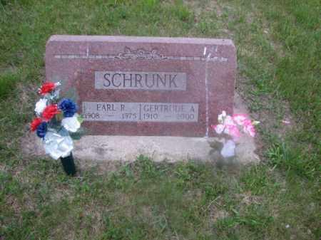 SCHRUNK, EARL ROBERT - Antelope County, Nebraska | EARL ROBERT SCHRUNK - Nebraska Gravestone Photos