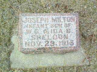 SHELDON, JOSEPH - Antelope County, Nebraska | JOSEPH SHELDON - Nebraska Gravestone Photos
