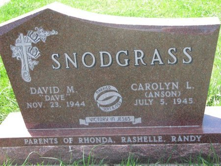ANSON SNODGRASS, CAROLYN L. - Antelope County, Nebraska | CAROLYN L. ANSON SNODGRASS - Nebraska Gravestone Photos