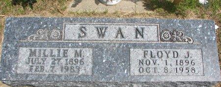 ANSON SWAN, MILLIE M. - Antelope County, Nebraska | MILLIE M. ANSON SWAN - Nebraska Gravestone Photos