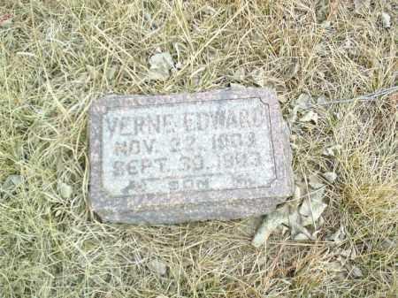 TAYLOR, VERNE EDWARD - Antelope County, Nebraska | VERNE EDWARD TAYLOR - Nebraska Gravestone Photos
