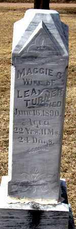 TURNER, MAGGIE G. - Antelope County, Nebraska | MAGGIE G. TURNER - Nebraska Gravestone Photos