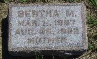 BEHLER VAN ERT, BERTHA - Antelope County, Nebraska | BERTHA BEHLER VAN ERT - Nebraska Gravestone Photos