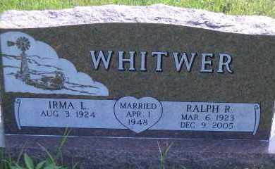 BRANDSTETTER WHITWER, IRMA L. - Antelope County, Nebraska | IRMA L. BRANDSTETTER WHITWER - Nebraska Gravestone Photos