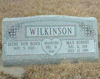 WILKINSON, IRENE - Antelope County, Nebraska | IRENE WILKINSON - Nebraska Gravestone Photos