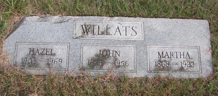 BEECROFT WILLATS, MARTHA - Antelope County, Nebraska | MARTHA BEECROFT WILLATS - Nebraska Gravestone Photos