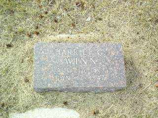 WINN, HARRIET - Antelope County, Nebraska | HARRIET WINN - Nebraska Gravestone Photos