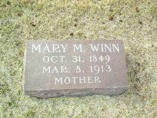 WINN, MARY - Antelope County, Nebraska   MARY WINN - Nebraska Gravestone Photos