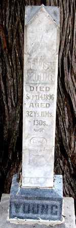 YOUNG, LEWIS A. - Antelope County, Nebraska | LEWIS A. YOUNG - Nebraska Gravestone Photos
