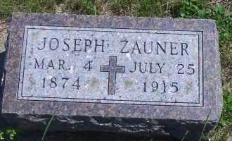 ZAUNER, JOSEPH - Antelope County, Nebraska | JOSEPH ZAUNER - Nebraska Gravestone Photos