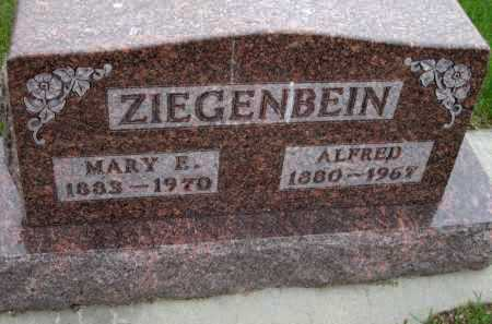 ZIEGENBEIN, MARY E - Antelope County, Nebraska | MARY E ZIEGENBEIN - Nebraska Gravestone Photos