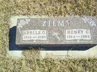 ZIEMS, HENRY C - Antelope County, Nebraska   HENRY C ZIEMS - Nebraska Gravestone Photos