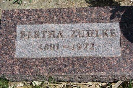 BONO ZUHLKE, BERTHA - Antelope County, Nebraska | BERTHA BONO ZUHLKE - Nebraska Gravestone Photos