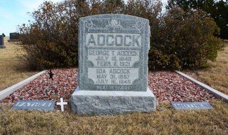 ADCOCK, GEORGE T. - Banner County, Nebraska | GEORGE T. ADCOCK - Nebraska Gravestone Photos