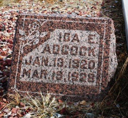 ADCOCK, IDA E. - Banner County, Nebraska | IDA E. ADCOCK - Nebraska Gravestone Photos
