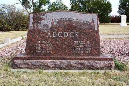 ADCOCK, JOHN R. - Banner County, Nebraska | JOHN R. ADCOCK - Nebraska Gravestone Photos