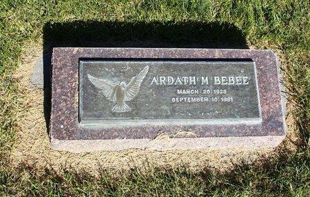 BEBEE, ARDATH M. - Banner County, Nebraska | ARDATH M. BEBEE - Nebraska Gravestone Photos